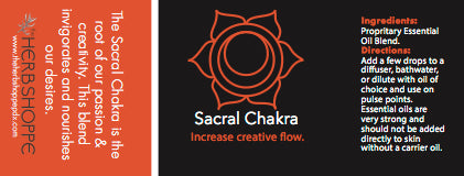 THS Sacral Chakra Essential Oil Blend-5ml
