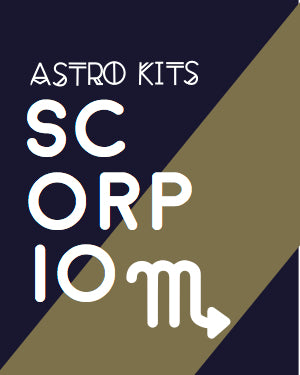 Scorpio Astrology Kit