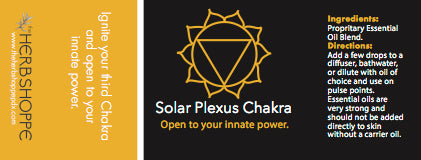THS Solar Plexus Chakra Essential Oil Blend-5ml