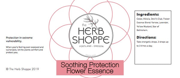 THS Soothing Protection Flower Essence 1oz
