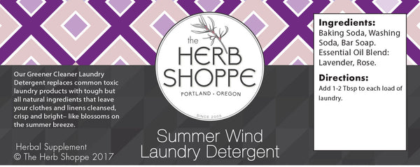 Greener Cleaner Laundry Detergent- Summer Wind