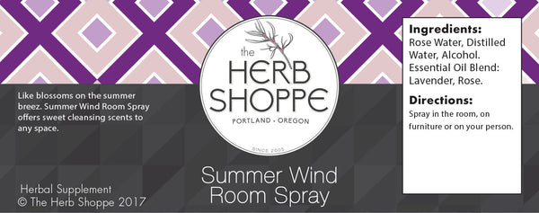 Summer Wind Room Spray 4oz