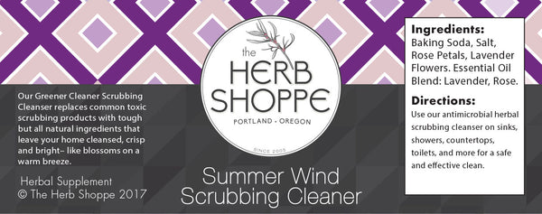 Greener Cleaner Scrubbing Cleanser- Summer Wind