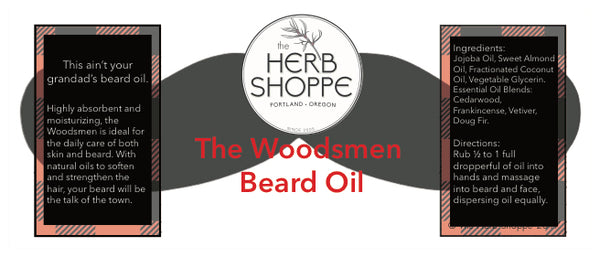 The Woodsman Beard Oil 2oz