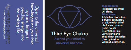 THS Third Eye Chakra Essential Oil Blend-5ml