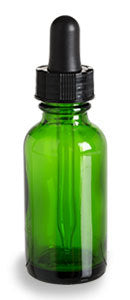 Green 1oz Dropper