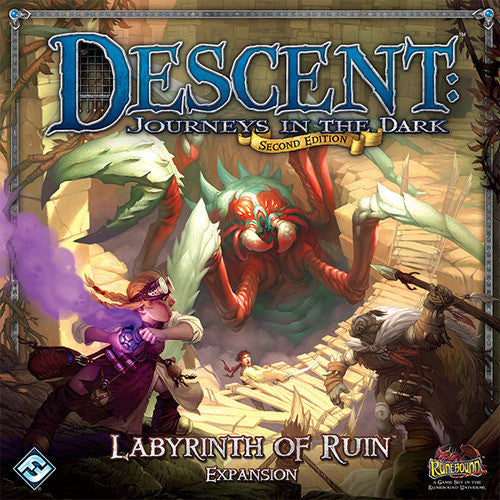 Descent 2nd Edition - Labyrinth of Ruin
