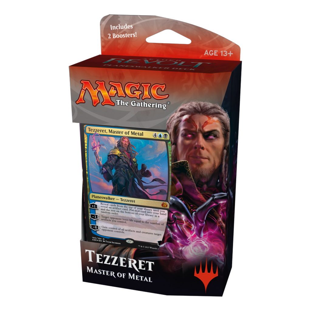 AER Planeswalker Deck - Tezzeret (In-store pickup only)