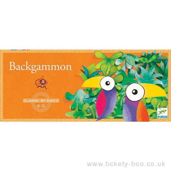 Backgammon - Djeco