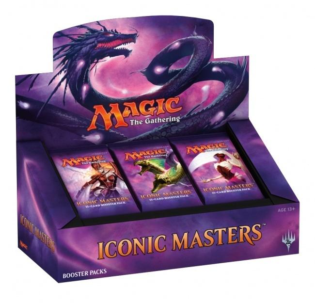 Iconic Masters Booster Box - 5% CASH DISCOUNT