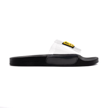 Slippers Black Transparent - Chancla de baño