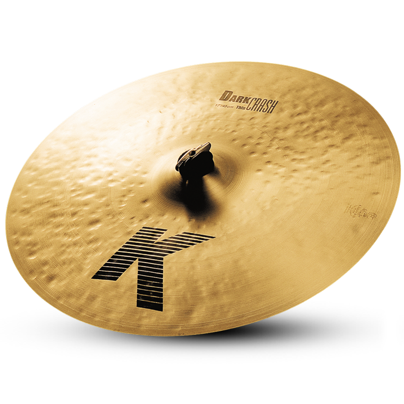 "17"" ZILDJIAN K DARK CRASH THIN"
