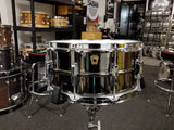 "SOLD USED Ludwig Black Beauty Snare Drum - 6.5"" x 14"" LB417 Made in USA"