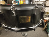 NEW Pork Pie 14x6 black out snare drum