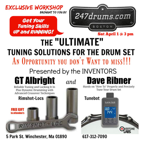 FIRST TIME EVENT!! Dave Ribner/TUNEBOT and GT Albright/RIMSHOT-LOCS - Tuning and Locking!