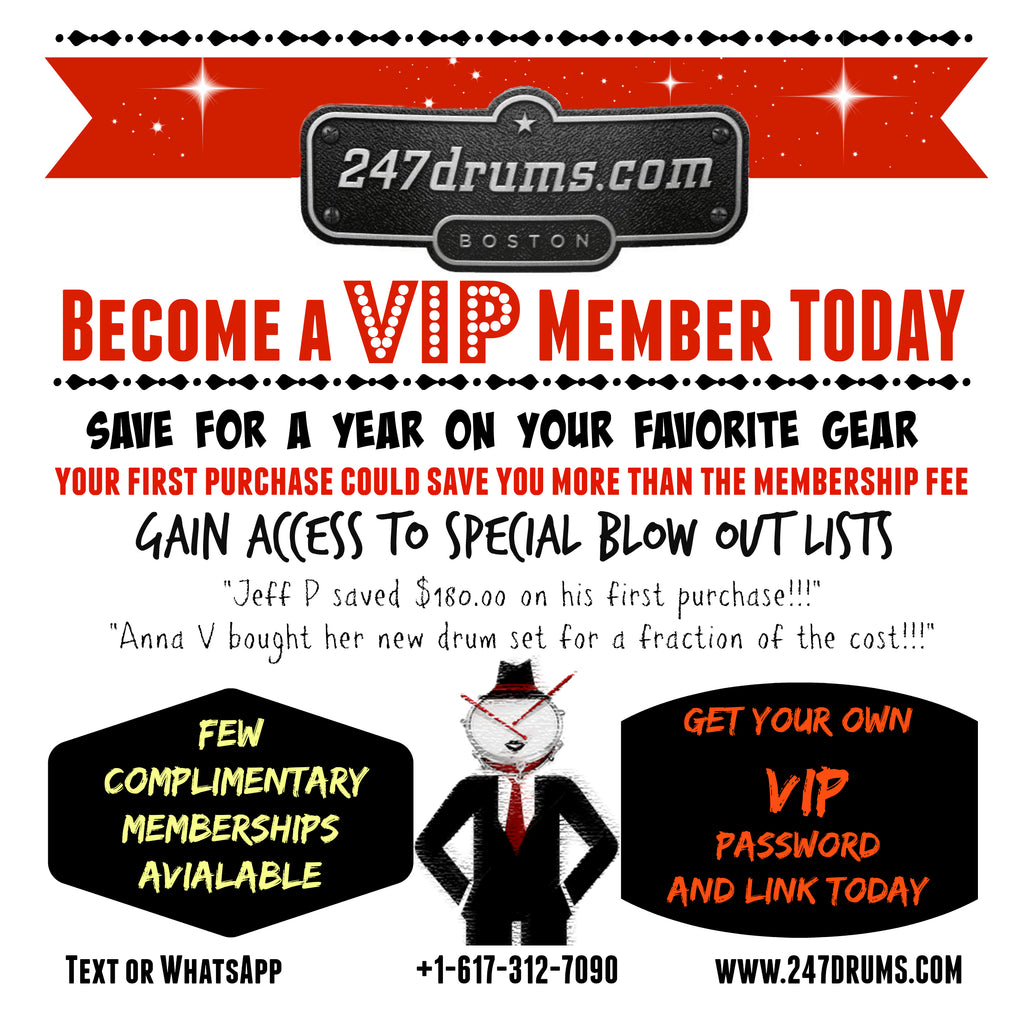 453696bc3e982 247drums. 1 Full Year 247drums Exclusive Vip Membership