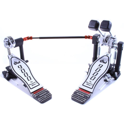 Dw Double Pedal 9000 (extended footboard) Free Shipping-  International Customer Service- TOP BEST PEDAL for Drums