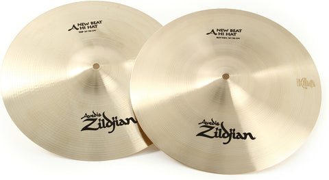 "Zildjian A Series New Beat Hi-hats - 14"" (FREE SKYPE LESSON with purchase)"