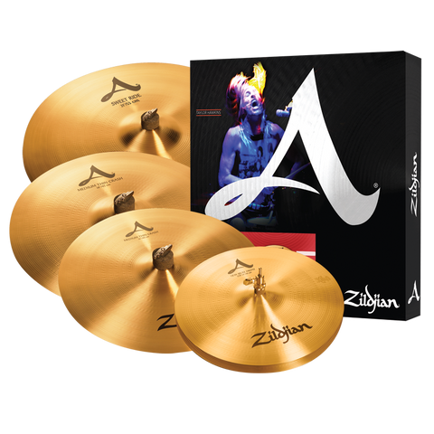 "Zildjian A Avedis Cymbal Set+ Free Crash 18"" + Heads or Sticks or More Bonus Items Zildjian A391"