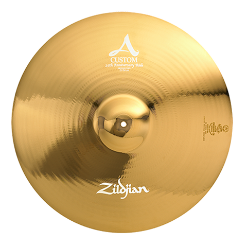 "Zildjian 23"" A Custom 25th Anniversary Ride - Limited Edition (quantity 3 available) Bonus Deal $269.05 OFF!"