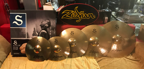 Zildjian S Series Rock 4-piece Cymbal Set