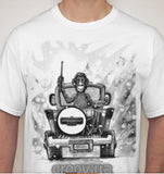 247drums- Groovilla #1 Shirt Limited Edition FREE SH WORLDWIDE