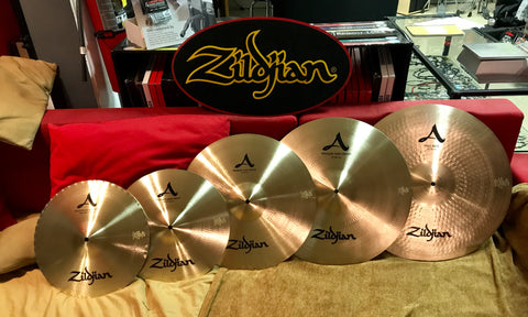 A Zildjian Cymbal Set - ROCK MUSIC PACK