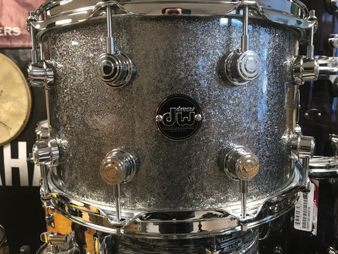 DW Performer's Series Snare Drum 14x8 Titanium Sparkle Made in USA
