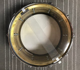 Ludwig 8x14 Raw Brass Phonic snare drum ORGANIC look and sound - SAVINGS ($430.00)