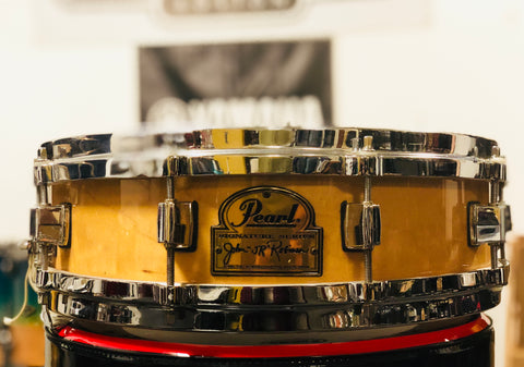 "Pearl John ""JR"" Robinson Signature Snare Drum - 14x4 - Used"