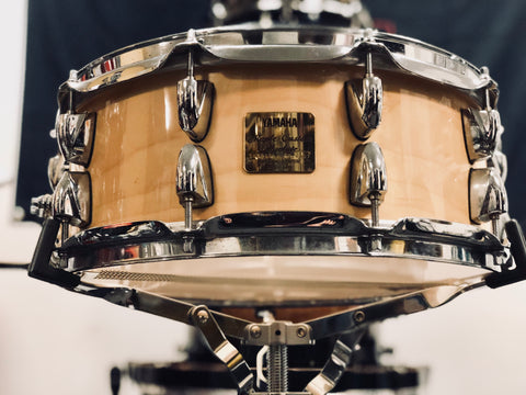 Yamaha Maple Custom Absolute Snare Drum - 14x5.5 - Natural Gloss (Used MIJ)