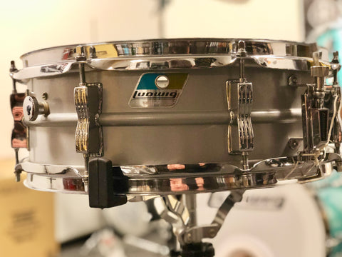 Ludwig Acrolite Snare Drum - 14x5 - Matte Gray - (used)