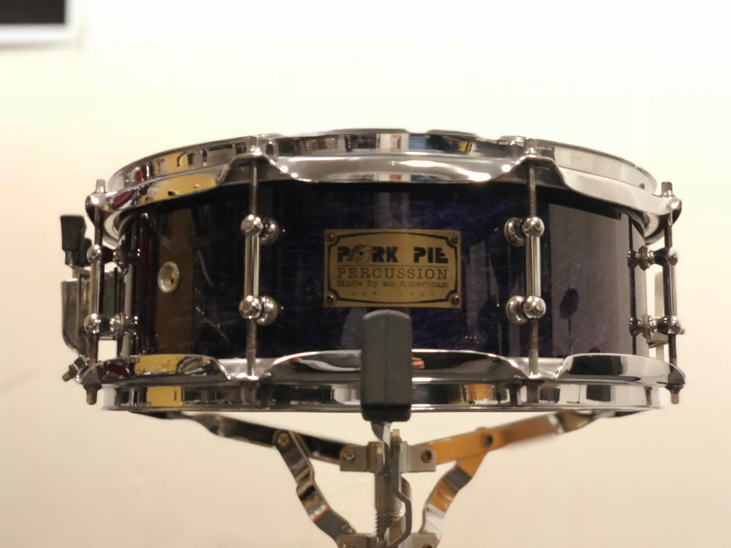 Pork Pie Snare Drum 8 ply Maple 13x5 - Violet Gloss
