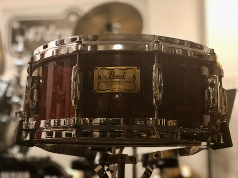 Pearls Masters Snare Drum 14x5.5 - Mahogany