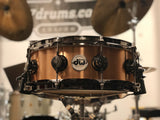 DW Bell Bronze Snare Drum 14x5 -Black Nickel Hardware (Used)