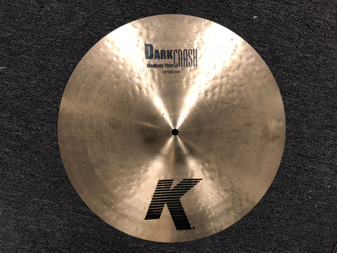 Zildjian K Dark Crash Cymbal - Medium Thin - 1450 grams