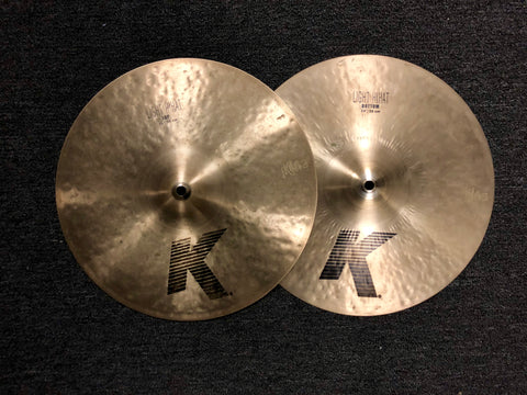 Zildjian K Light Hi Hat Cymbals - 14 - 1019/1217 grams