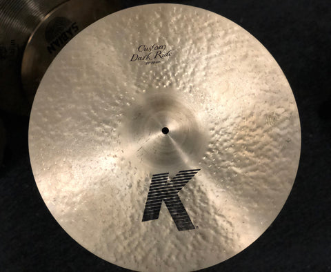 Zildjian K Custom Dark Ride Cymbal - 20 - 2300 Grams