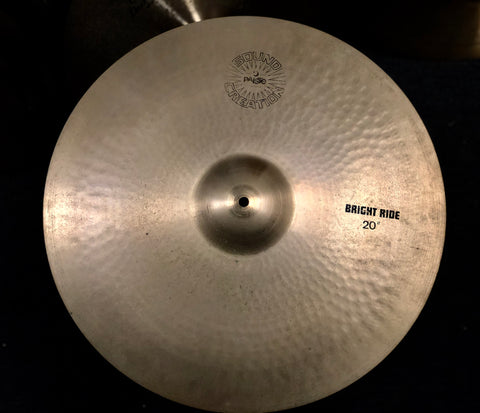 "Paiste Sound Creation Bright Ride Cymbal 20"" - 2695 grams"