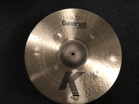 Zildjian K Cluster Crash Cymbal - 18 -  1219 grams
