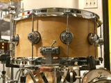 "DW Collector's Series ""10&6"" Maple Snare Drum - 14x7 - Natural Satin (Used)"