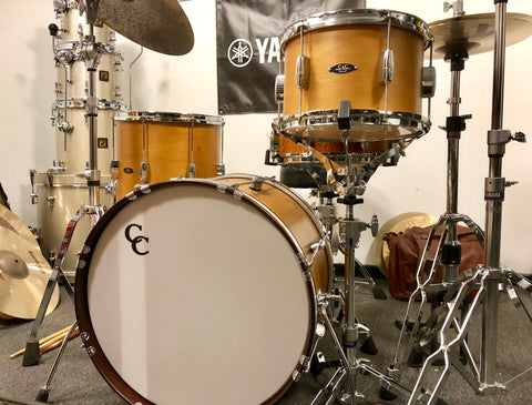 "C&C Player Date 3 pc ""Be Bop""Drum Set - 12,14,20 - Honey Lacquer"