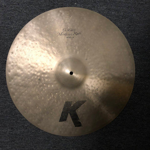 Zildjian K Custom Medium Ride Cymbal - 20 - Used - 2600 grams