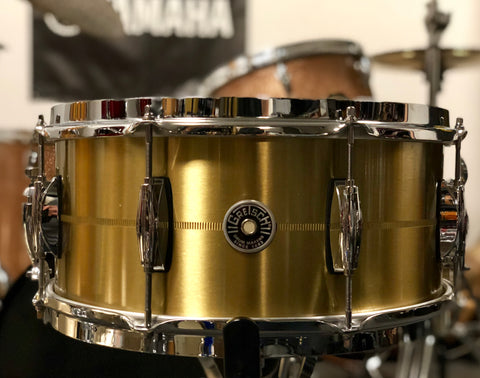 Gretsch Brooklyn Bell Brass Snare Drum - 14x6.5 - Used