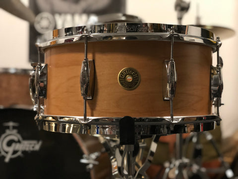 Gretsch Broadkaster 14x6.5 Snare Drum - Satin Natural - Used