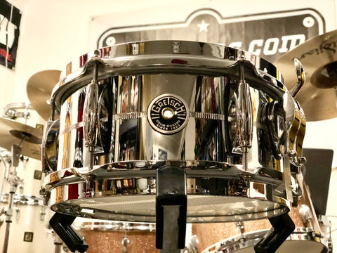 Gretsch Brooklyn Snare Drum - 10x5 - Steel - Used