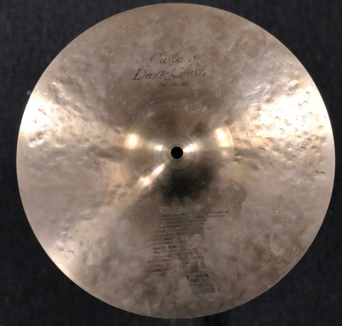 Zildjian K Custom Dark Crash Cymbal - 14 - 703 grams .