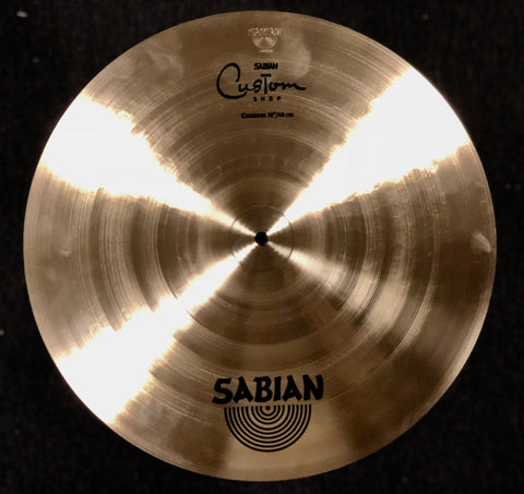 Sabian Custom Shop RH flat ride - 18 - 1391 Grams