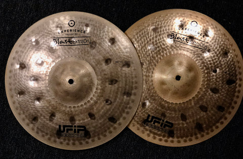 UFIP Experience Extra Dry Hi Hat Cymbals 14 920/1132 - NAMM Show Demo!