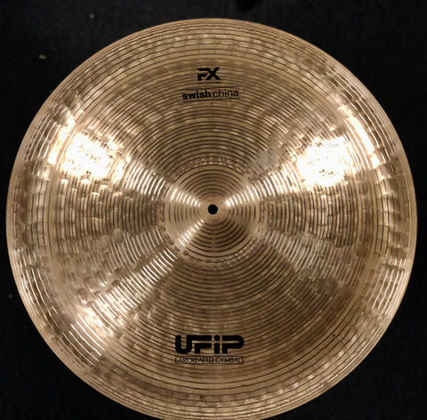 UFIP Experience FX Swish China Cymbal 22 - 1912 grams - NAMM Demo